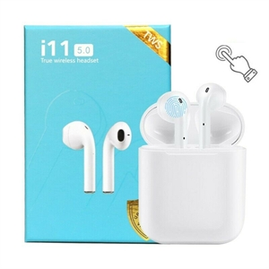 Airpod alternatives, complete with touch control. i11 5.0 'Touch,' auto pop-up, battery indicator. Bluetooth true wireless earpods, upgraded version for Android and iOS