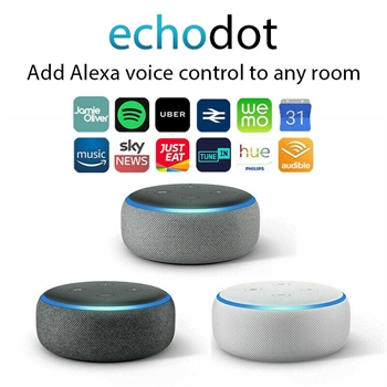 Echo Dot 3rd Generation Fabric Alexa Speaker - SOLD OUT