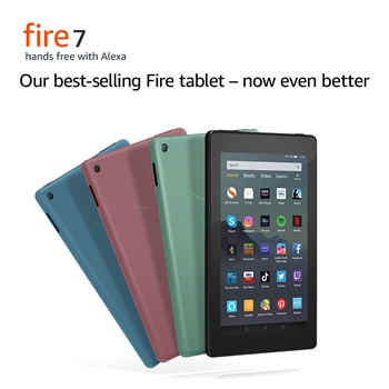 All-new Fire 7 tablet  7 display 16 GB with special offers 9th generation - SOLD OUT