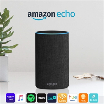 Echo 2nd Gen Fabric Alexa Speaker- SOLD OUT